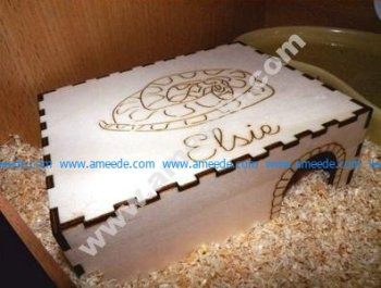 Laser Cut Snake House
