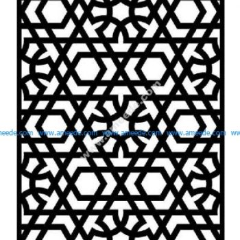 Pattern Arabic Modern Graphics