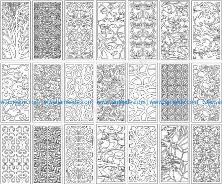 Pattern Collection corel File