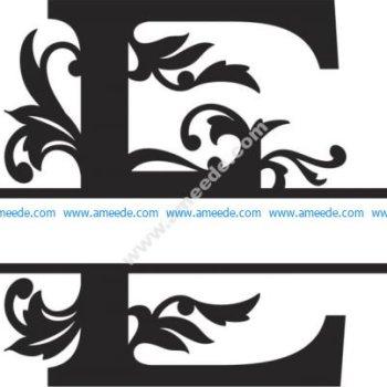 Regal Split Font E