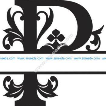 Regal Split Font P