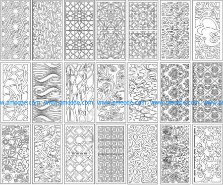 Set Pattern Ornament