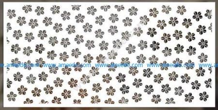 Small floral motifs