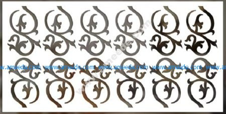 decorative vector panels for cnc