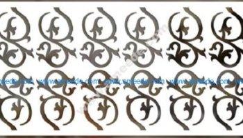 Vector decorative panel – Graphic Design Vector