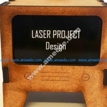 vector Laser Cut TV