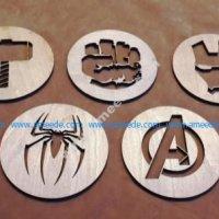 Avengers Coasters