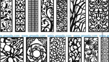 pattern dxf file | Graphic Design Vector