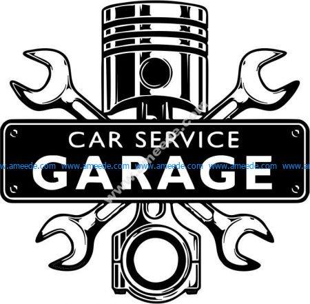 Car repair garage service
