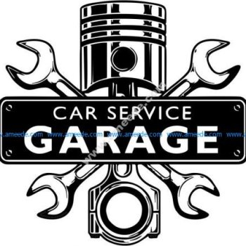 Car repair garage service