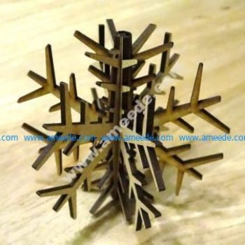 Decorative Plywood Snow flake