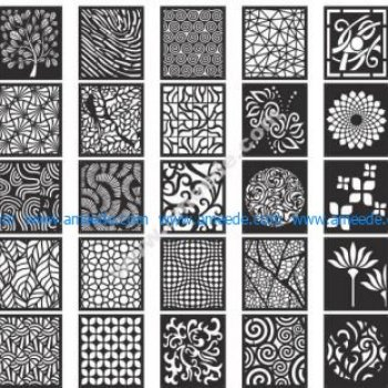 Decorative Screen Patterns Collection
