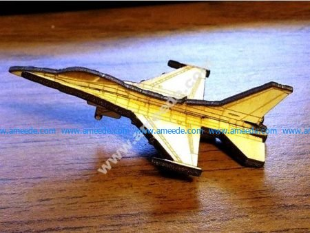 F-16 Fighting Falcon 3mm