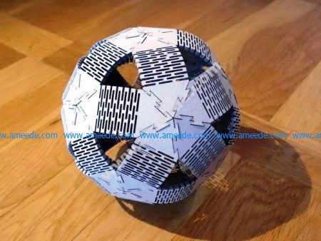 Plywood Dodeca Ball