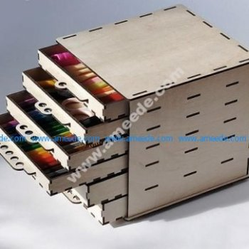 Storage Box with Drawers