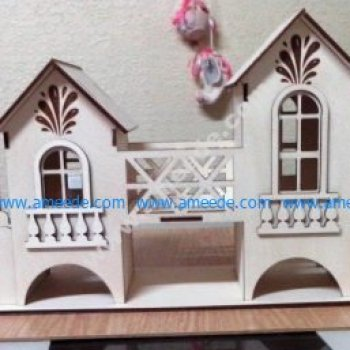 Tea Bag House Template