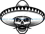 The typical hat of Mexicans