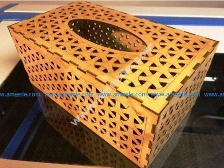Tissue Box 3mm Birch Plywood