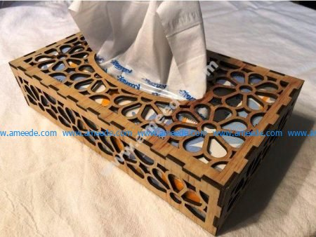 Tissue Box 3mm Plywood