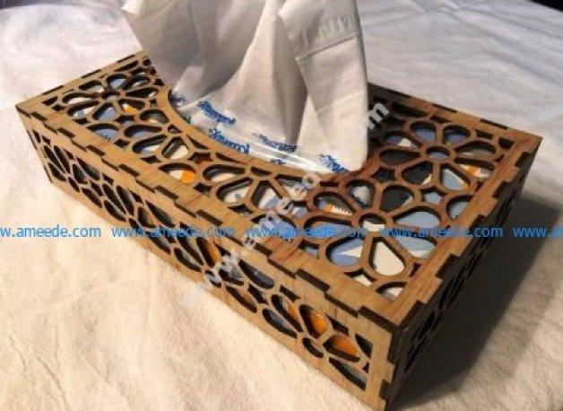 Tissue Box 3mm Plywood