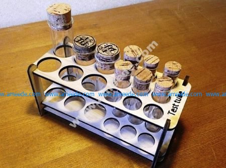 Vector Test Tube Stand