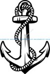 anchor symbol of seafaring profession