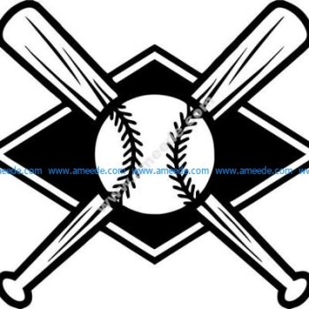 icon of baseball