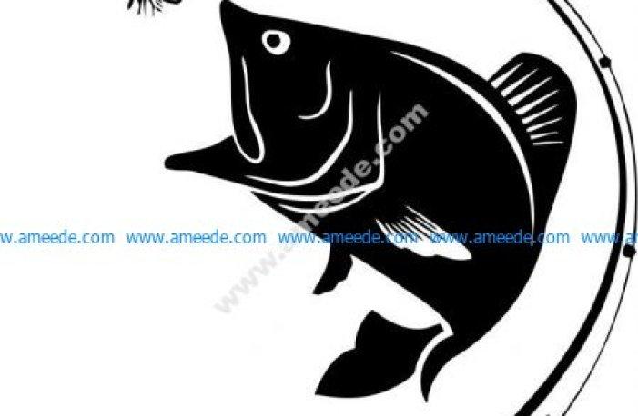 symbol of fishing lovers