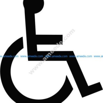 wheelchair person icon