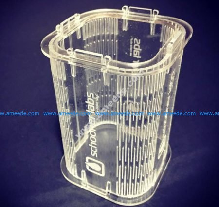 Acrylic Pen Stand 3mm
