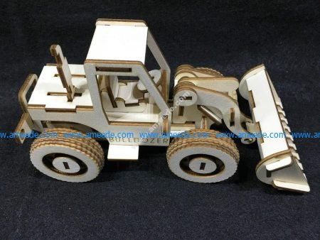 Bulldozer model