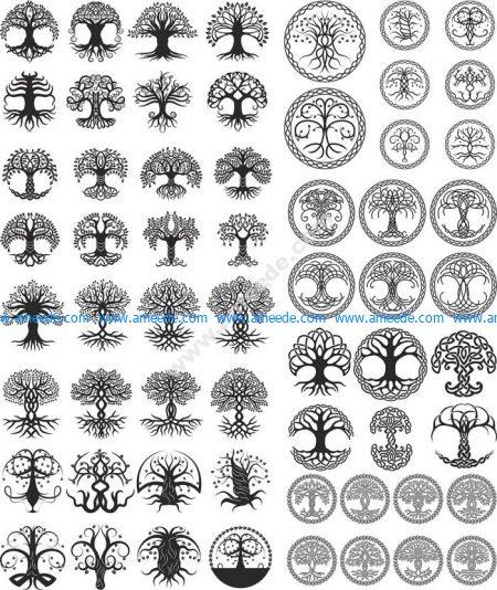 Celtic Trees Pack