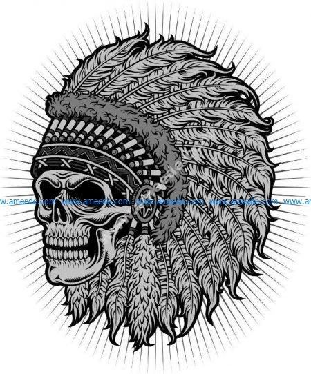 Chief's skull
