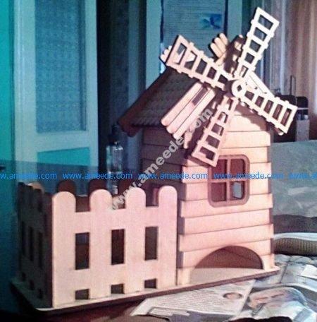 Cut Tea House Mill