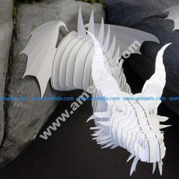Dragon Head Template