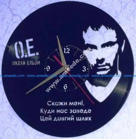 Famous character clock