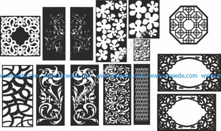Jaali Design In Cdr For Cnc