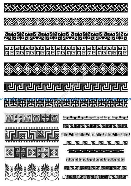 Lace Border Decor Elements
