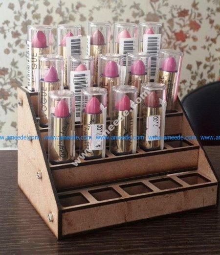 Lipstick Holder Display Rack
