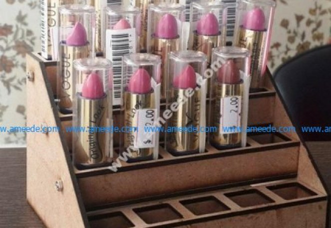 Lipstick Holder Display Rack