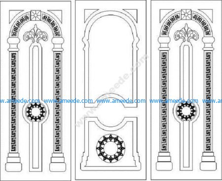 Modern Wooden Door Designs for CNC