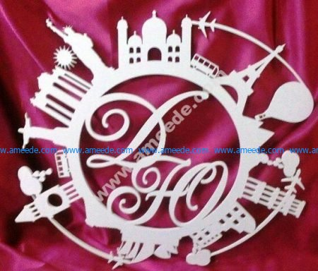 Monograms and symbols around the world