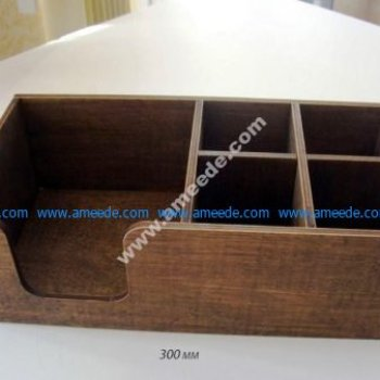 Napkin Holder 300x150x95 Plywood 4mm