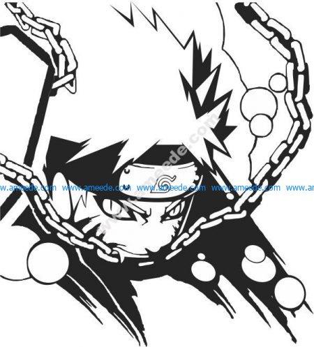 Naruto comic characters