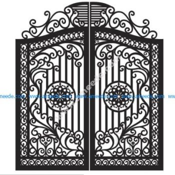 Plasma Cut Gate Design
