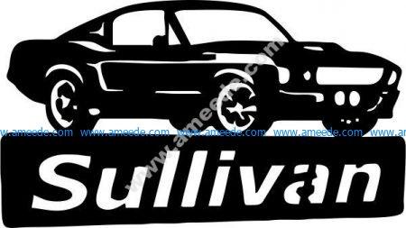Sullivan car icon