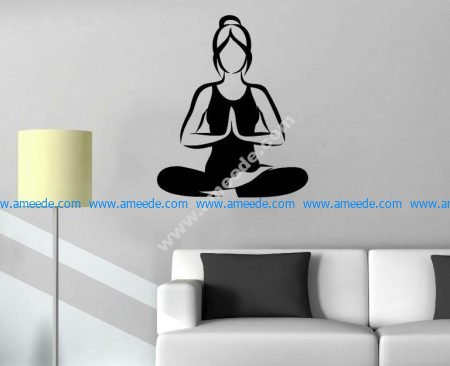 Yoga room exclusively for girls