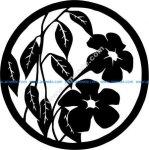 paper cut flower art