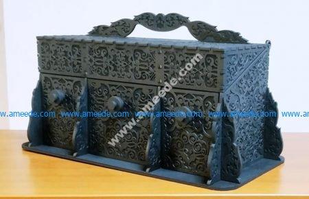 wooden box template