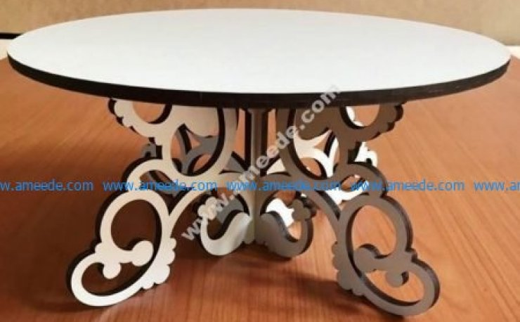 wooden plywood tea table